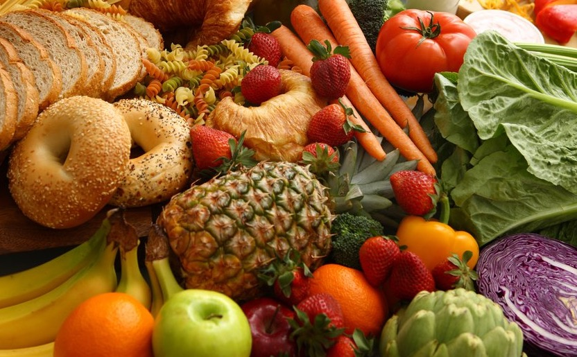 Variety of Nutritious Foods